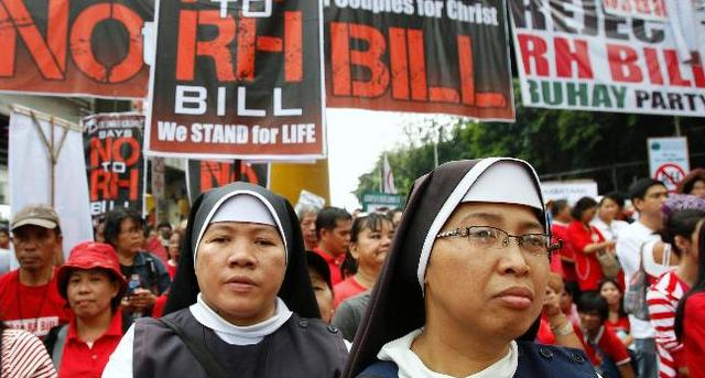 philippines abortion protest