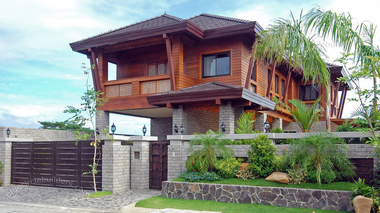 Working on the building retiring to the philippines for Philippine model house design